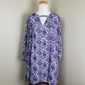 Umgee Berry Print dress Small